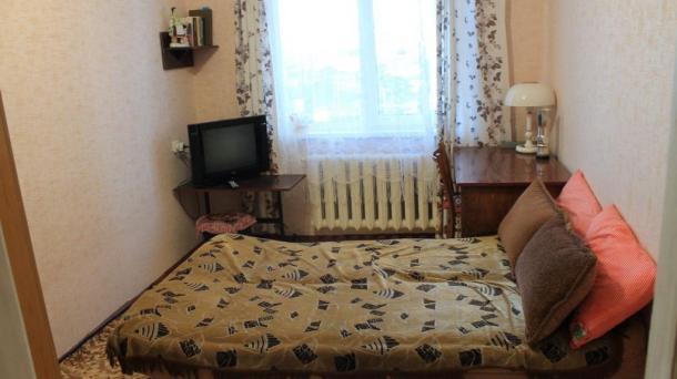 Две комнаты в квартире.
