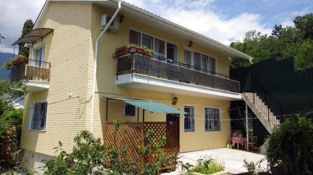 Двухкомнатный дом с Видовыми балкончиками.